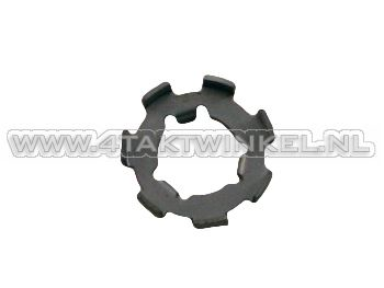 Clutch nut, locking plate small, original Honda