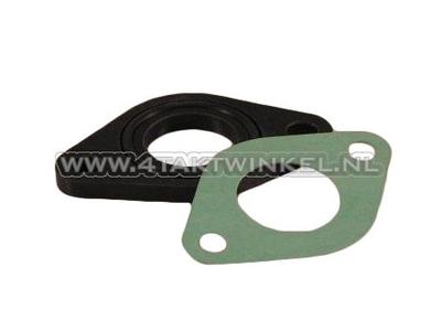 Insulator 20mm wide flange incl. O-ring + gasket, aftermarket