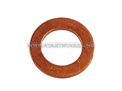 Ring 12mm, copper oil drain plug