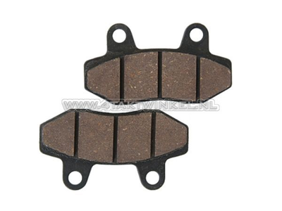 Brake pads Ape 50, Madass front, ed