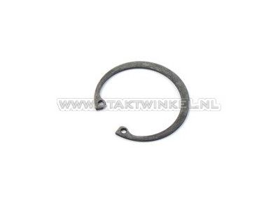 Front fork pipe clip above oil seal, SS50, CD50