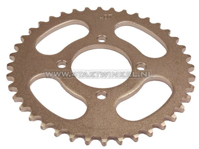 Rear sprocket C50, CD50 40