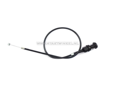 Choke cable, C50 OT, with knob, aftermarket