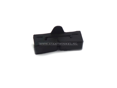 Tank rubber SS50, CD50, CB50, CY50 on the frame block with lip, original Honda