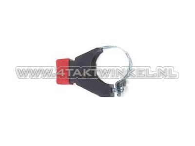 Universal button e.g. horn mounting: on handlebar