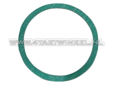 Gasket, cylinder head cover, left, round, small, aftermarket