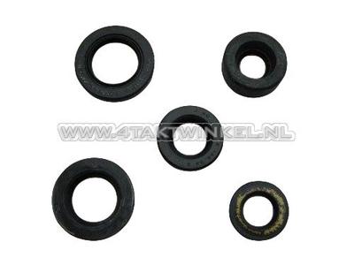 Seal set SS50, CD50, C50, Dax, 5-piece, Japanese