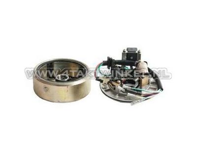 CDI ignition set 12v tap, C50 NT