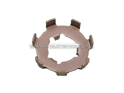 Clutch nut, locking plate large, original Honda