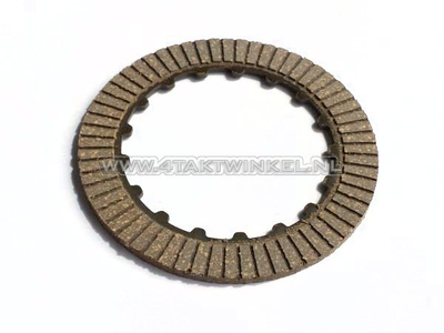 Clutch friction plate SS50, CD50, C50, Dax, PS50, double coated, aftermarket