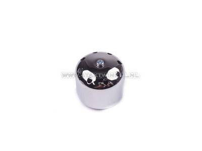 Power filter 35mm, straight, chrome cap, spherical