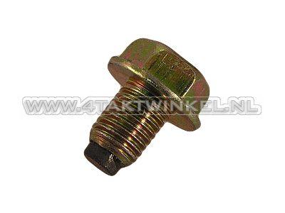 Oil drain plug magnetic m12 x 1.5 type 1