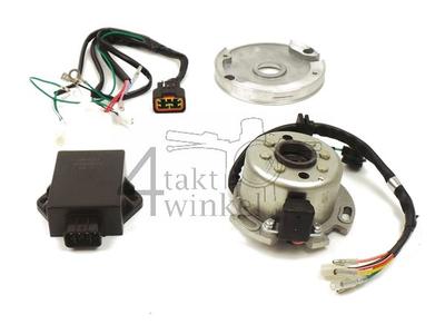 CDI ignition kit 12v shaft, Lifan 150cc, with adjustable stator