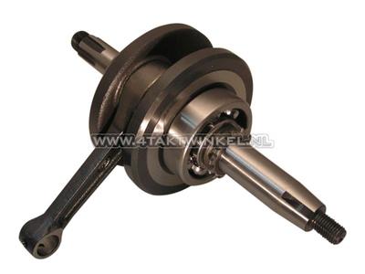 Crankshaft NT GK4, C50NT, Skyteam, Zhenhua, 12 volt tap, standard, complete