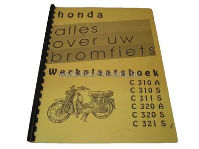 Workshop manual, Honda C310, C320 both A and S