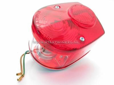 Taillight Dax, C50 NT red, original