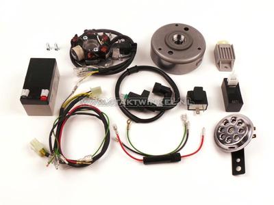 CDI ignition conversion kit & 12 volt electricity CB50, CY50