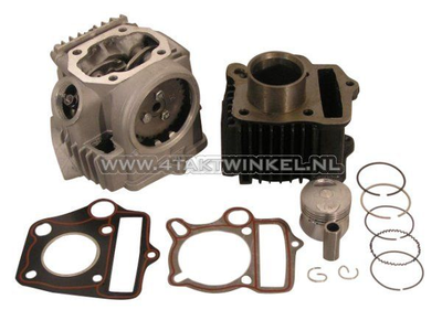 Cylinder kit, with piston & gasket & cylinder head 50cc, AGM, Skyteam, Honda NT