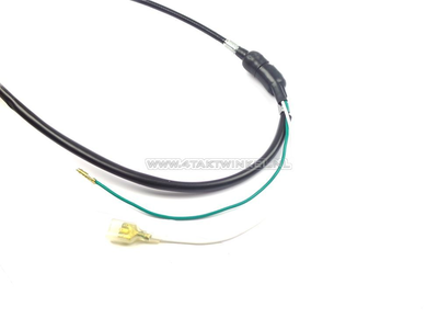 Brake cable 100cm Dax OT with switch black, aftermarket