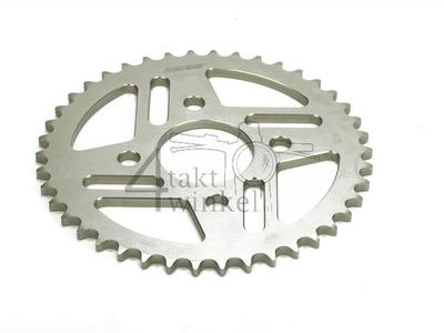 Rear sprocket Replica Dax, Ape, PBR 42 aluminium