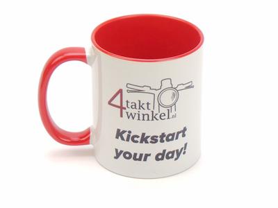 Mug Kickstart your day! 300ml