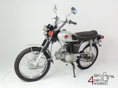 RESERVED! Honda CL50, Japanese, 6493 km, with papers