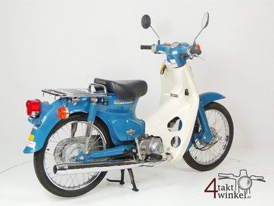 SOLD Honda C50 NT Japanese, blue, 4524 km