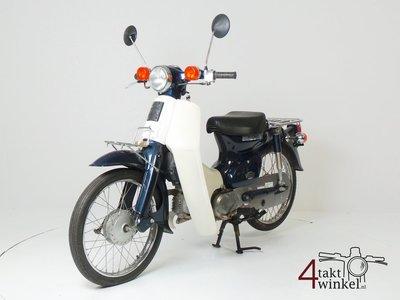 SOLD ! Honda C50 NT Japans, blue, 8860 km