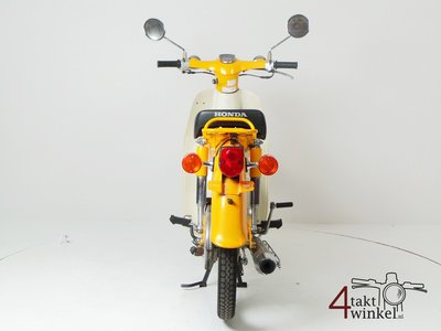 Honda C50 NT Japanese, yellow, 10118 km