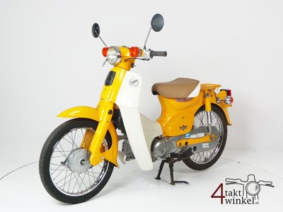 Reserved! Honda C50 NT Japanese, yellow, 10118 km