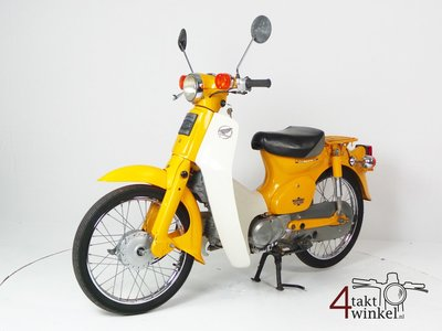 Honda C50 NT Japanese, yellow, 13775km