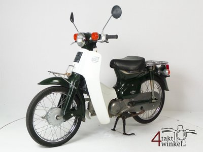 RESERVED Honda C50 NT Japanese, green, 4756 km, with papers