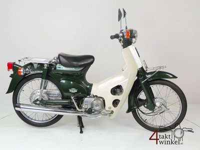 Reserved! Honda C50 NT Japanese, green, 5800 km