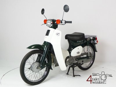 SOLD! Honda C50 NT Japanese, green, 6000 km, with papers
