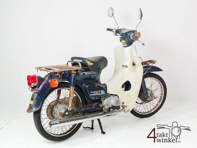 SOLD Honda C50 NT Japans, blue, fixer upper