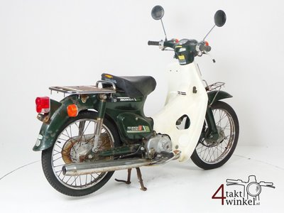 Honda C50 NT Japanese, green, fixer upper 2