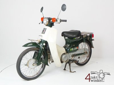 Honda C50 NT Japanese, green, fixer upper 3