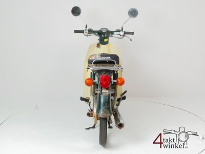 Honda C50 NT Japanese, green, fixer upper 4