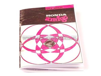 Workshop manual, Honda Amigo, Novio, A5