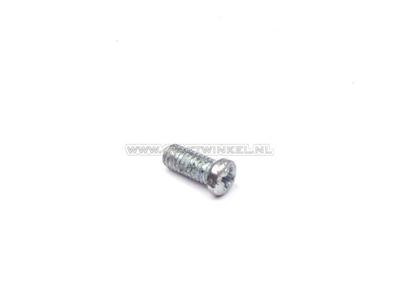 Throttle grip pipe Dax Chaly, special screw, original Honda