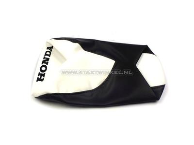 Seat cover C50 OT solo black / white