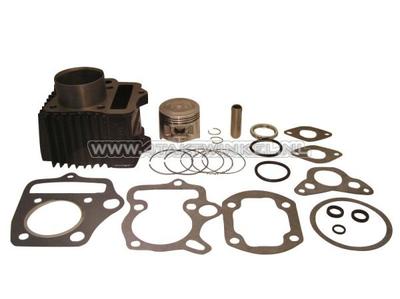 Cylinder kit, with piston & gasket 70cc, NT50 head 49cc imprint, steel