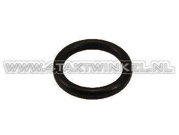Oil dipstick rubber O-ring, C50, SS50, original Honda