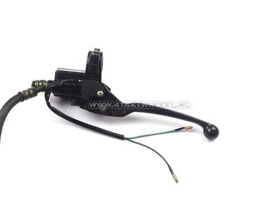 Caliper set + brake pump, universal e.g. Dax & Monkey