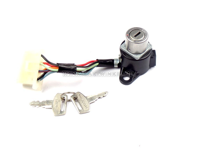 Ignition lock, C90 8-pin connector, original Honda