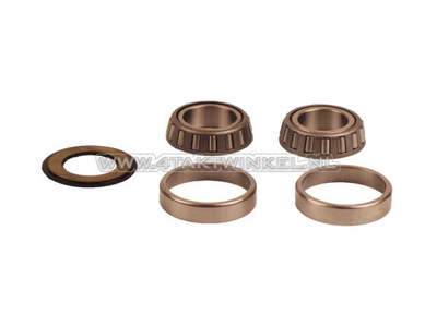 Steering bearing set, SS50, CD50, Dax, CB50, conical A-quality