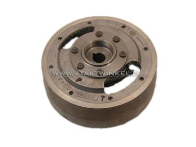 Flywheel, breaker points, Hitachi, advance, original Honda