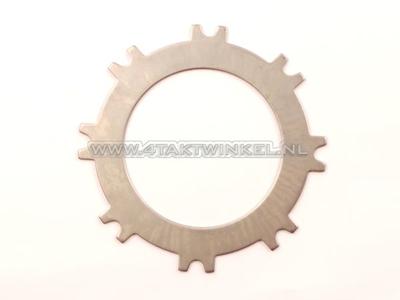 Clutch plate steel C50, Dax, intermediate, original Honda