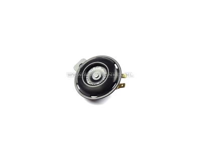 12 volt horn, universal bracket, black, original Honda