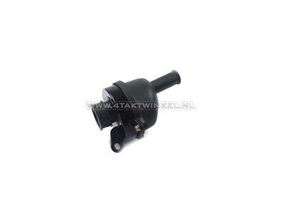 Air filter housing, Monkey, complete, 28mm, small connection, aftermarket